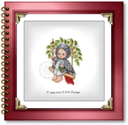 Cross Stitch Babies and Bears by EMS Design. The Animal Babies