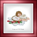 Stitching Angel with Hoop