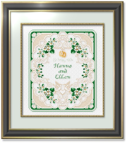 Free Wedding Cross Stitch Patterns