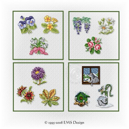 machine embroidery cards
