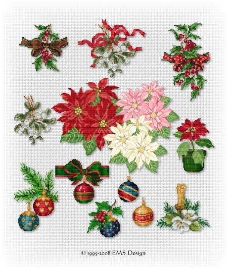 Embroidery christmas patterns « free