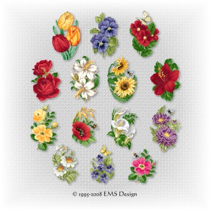 MACHINE EMBROIDERY GREETING CARDS