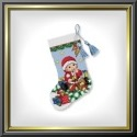 "Ministocking ""Baby's first Christmas"""