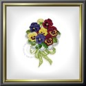 "EMS037 ""Pansy Bouquet"""
