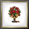 "EMS047b ""Red Roses in Cup"""