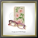 "EMS111 - Eyeglass Case ""Trumpet Flowers"""
