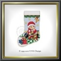 "EMS131 ""Baby's first Christmas"" - Mini Stocking"