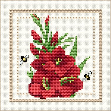 Free Cross Stitch Patterns By EMS Design Free Project 40 Flower Amazing Cross Stitch Flower Patterns