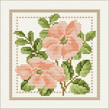 Free Cross Stitch Patterns By EMS Design Free Project 40 Flower Cool Cross Stitch Flower Patterns