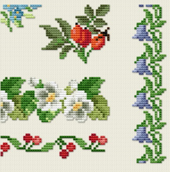 Antique Sampler - Part 08