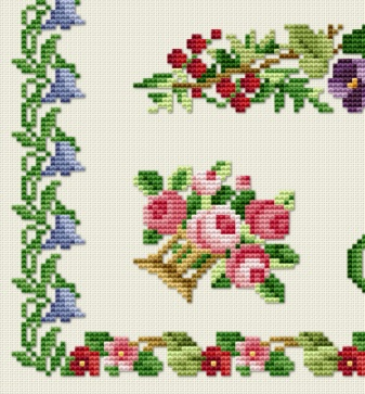 Antique Sampler - Part 09