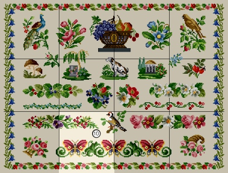 Antique Sampler - Download 10