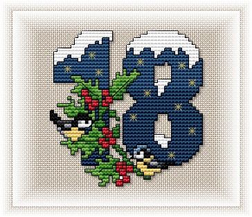 disdressed: Advent calendar (free mitten pattern anew!)