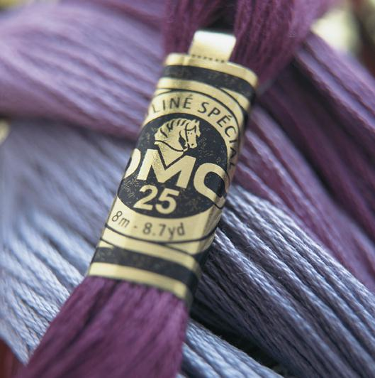 DMC - One of the most popular brands of thread. DMC also manufacture