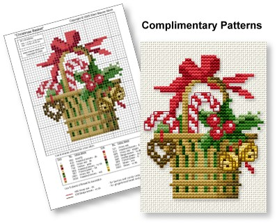 Free spring tulip cross stitch pattern pdf download | tiny.